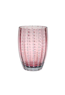 Zafferano - Perle Set 6 bicchieri tumbler ametista