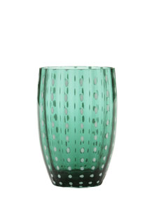 Zafferano - Perle Set 6 bicchieri tumbler verde