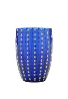 Zafferano - Perle Set 6 bicchieri tumbler blu
