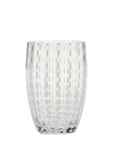 Zafferano - Perle Set 6 bicchieri tumbler trasparente