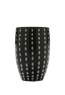 Zafferano - Perle Set 6 bicchieri tumbler nero