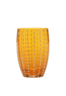 Zafferano - Perle Set 6 bicchieri tumbler arancio