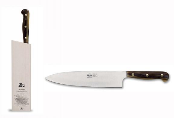 Berti Insieme - Coltello da carne e formaggi Cornotech
