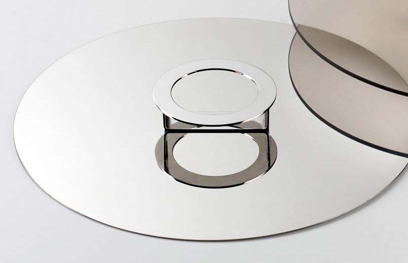 knIndustrie - Foodwear Coperchio/alzata acciaio cm20