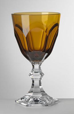 Giusti - Dolce Vita ambra vino-6 pezzi s/scatola
