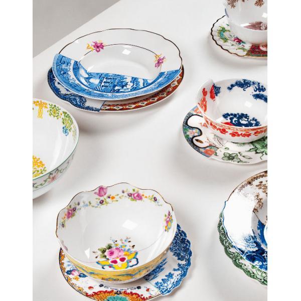 Seletti- HYBRID - Piatto frutta EUDOSSIA in porcellana cm20