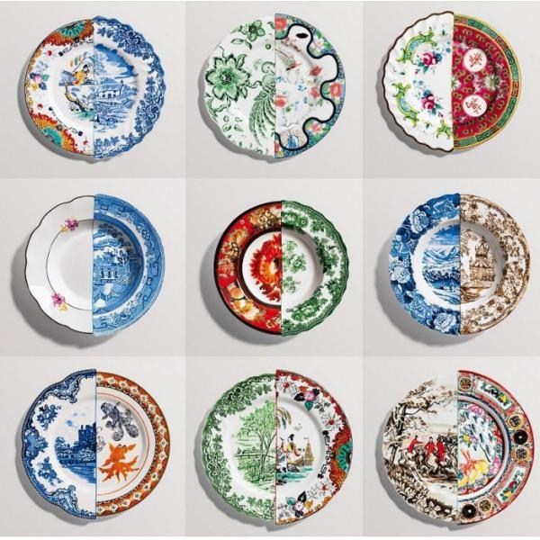 Seletti- HYBRID - Piatto frutta ZOE in porcellana cm20
