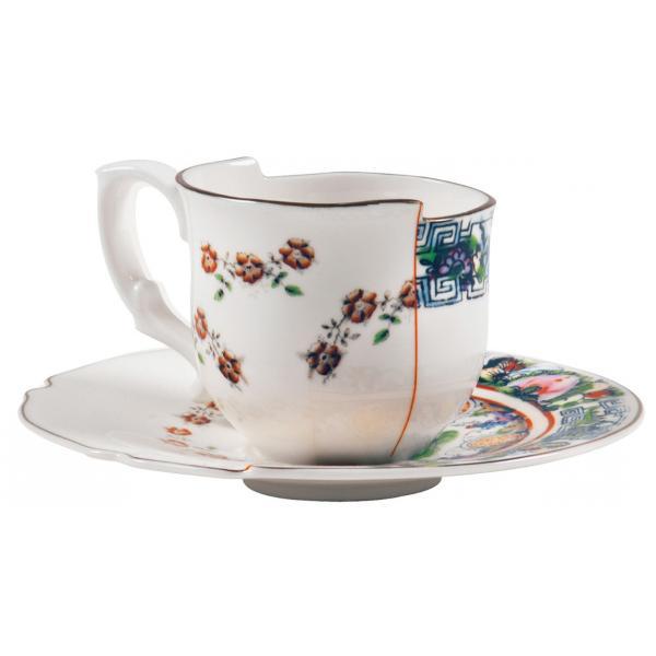 Seletti- HYBRID - Tazzina caffè c/piattino TAMARA