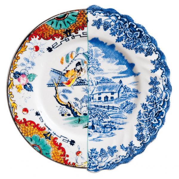 Seletti- HYBRID - Piatto frutta VALDRADA in porcellana cm20