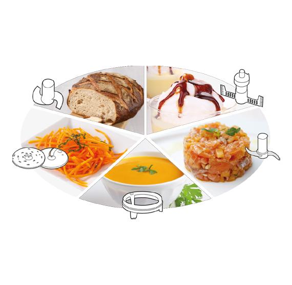 Magimix - Food processor Compact 3200XL White 2021