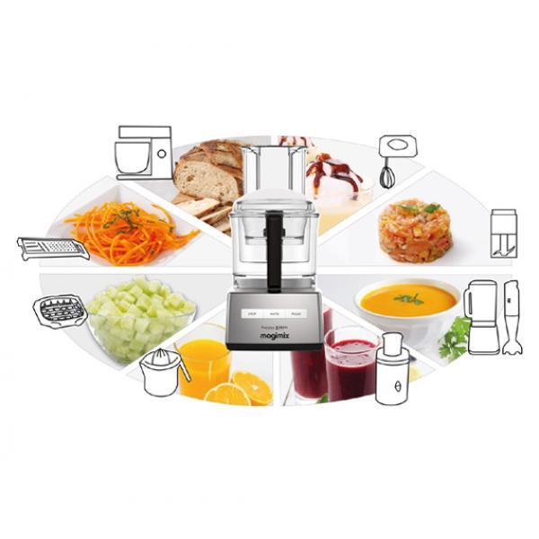 Magimix - Robot da cucina Cuisine 5200XL Premium rosso