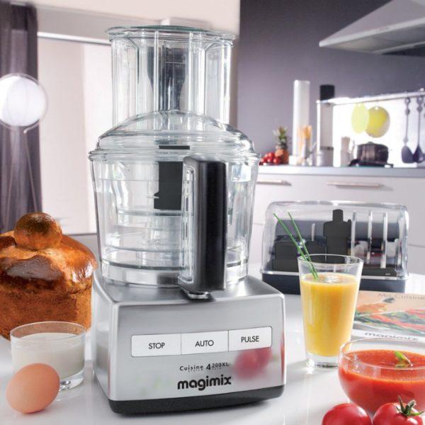 Magimix - Robot da cucina Cuisine 4200XL Cromato