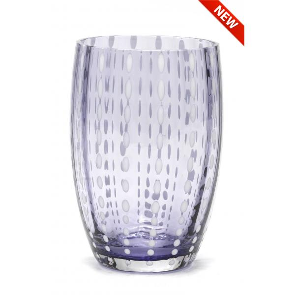 Zafferano - Perle Set 6 bicchieri tumbler lavanda