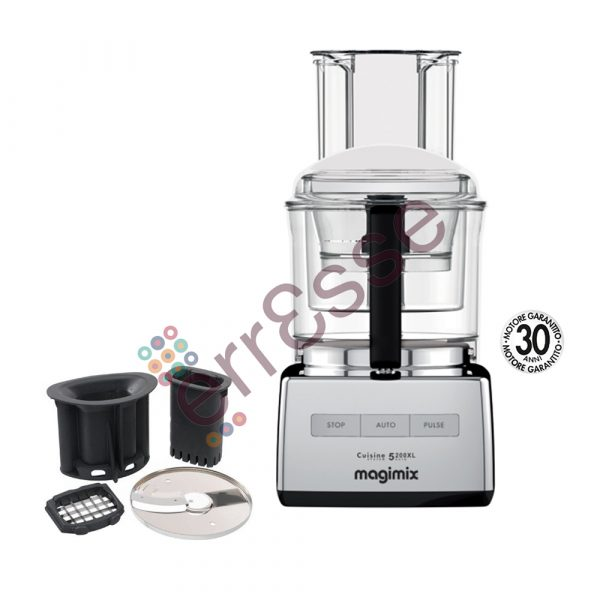 Magimix 5200xl Premium Grigio con Accessori