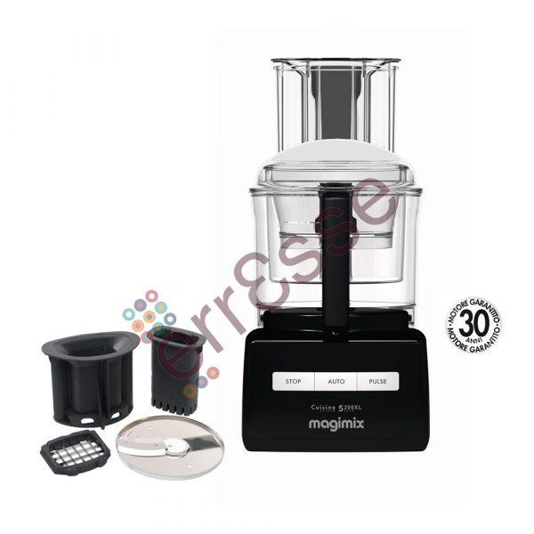 Magimix 5200xl Premium Nero con Accessori