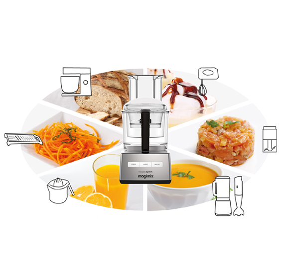 Magimix - Robot da cucina Cuisine 5200XL cromo