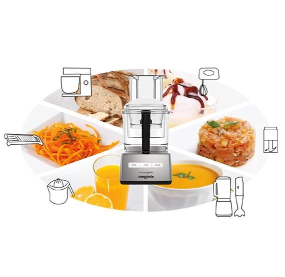 MAGIMIX Robot de Cocina Cuisine 5200XL Blanco