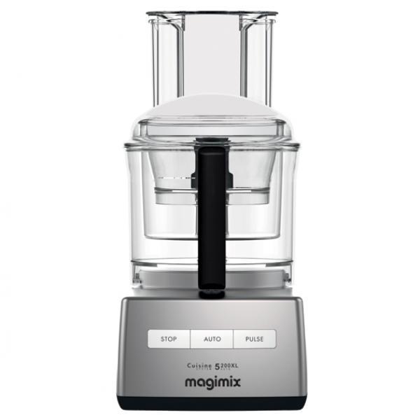 MAGIMIX Robot de Cocina Cuisine 5200XL Cromo