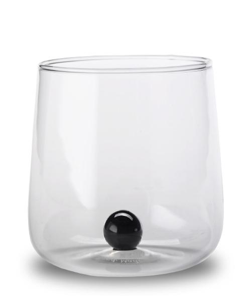 Zafferano - Bilia 6 bicchieri nero