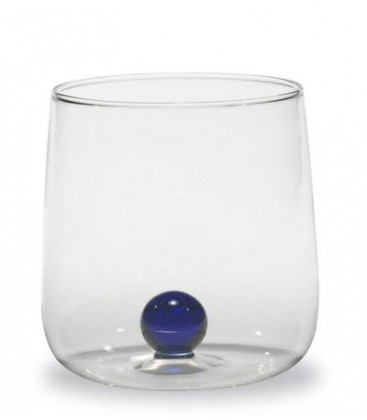 Zafferano - Bilia 6 bicchieri blu