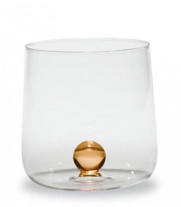 Zafferano - Bilia 6 bicchieri giallo oro