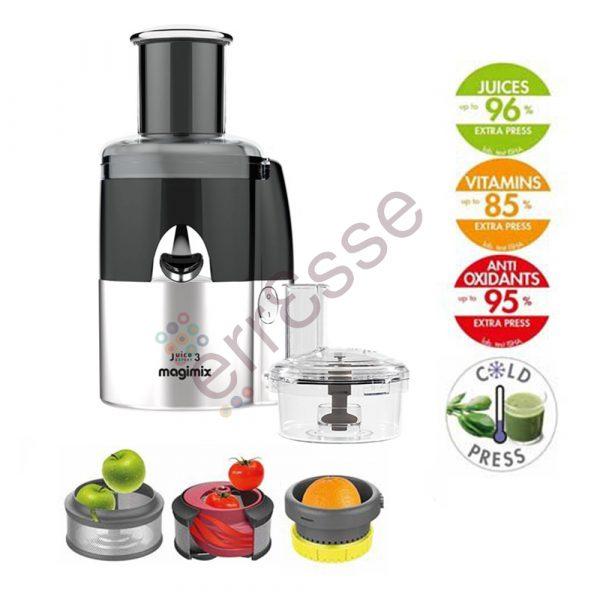 Magimix Juice Expert 3 Multifunzione Nero Cromo