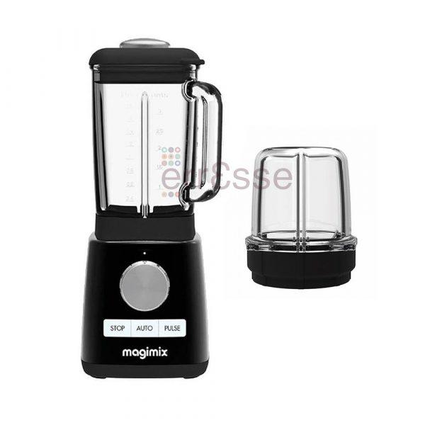 Magimix Power Blender Schwarz mit Mini Behälter