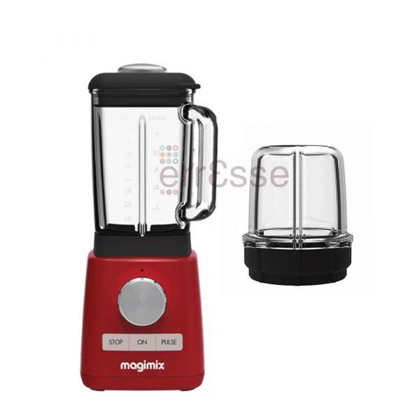 MAGIMIX Frullatore Rosso con Minibol