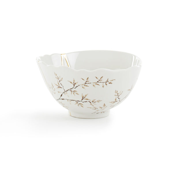 Seletti - KINTSUGI - Ciotola n°1 in porcellana cm 15,2