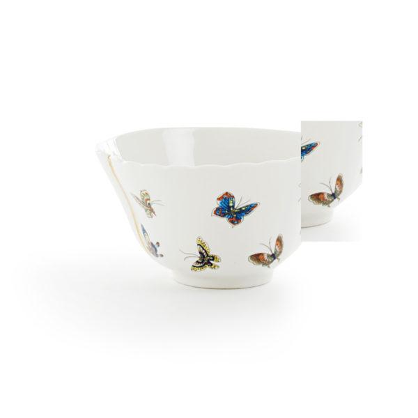 Seletti - KINTSUGI - Ciotola n°2 in porcellana cm 15,2