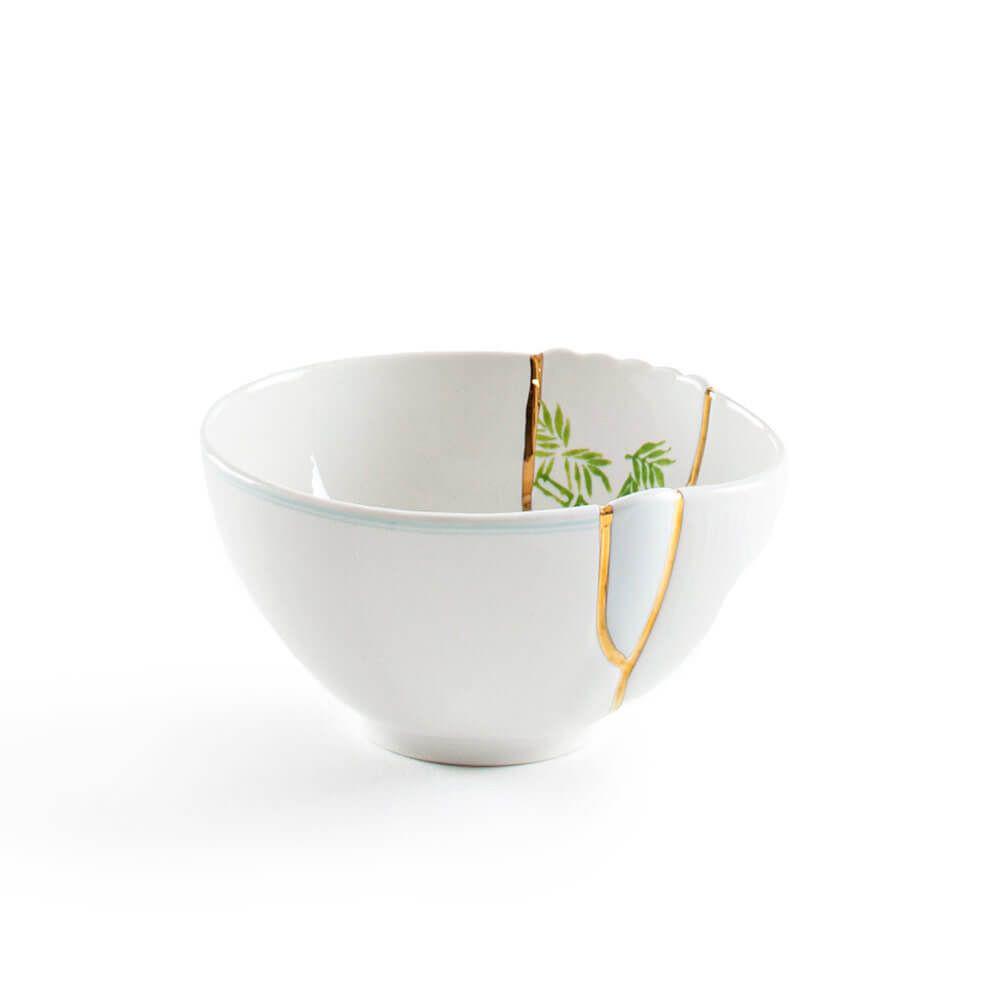 Seletti - KINTSUGI - Ciotola n°3 in porcellana cm 15,2