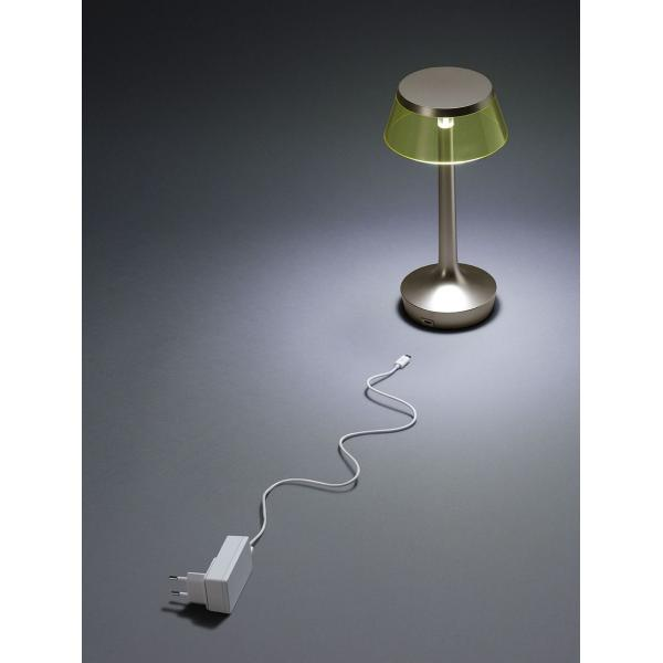 FLOS - Lampada da tavolo Bon Jour Unplugged Bianco Opaco