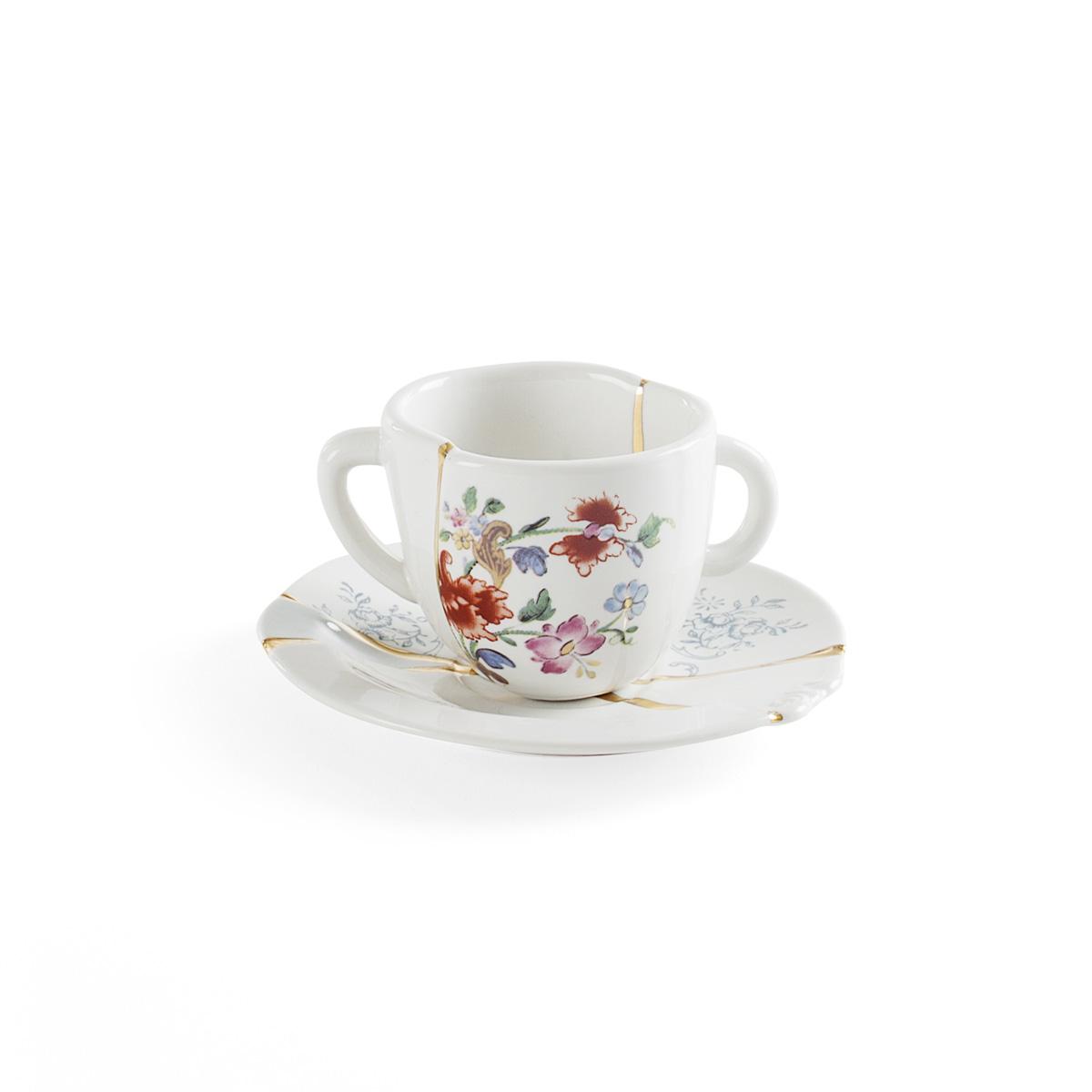 Seletti - KINTSUGI - Tazzina Caffè n°1 in porcellana