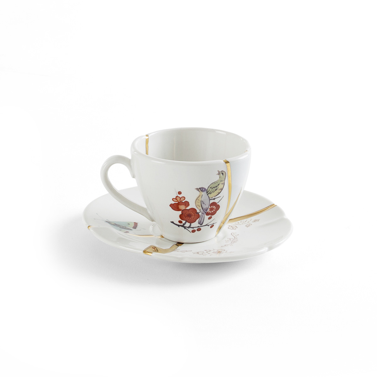 Seletti - KINTSUGI - Tazzina Caffè n°2 in porcellana