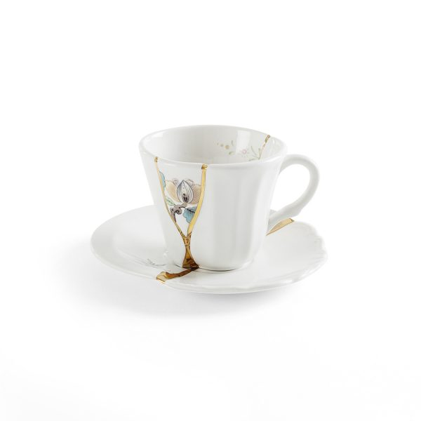 Seletti - KINTSUGI - Tazzina Caffè n°3 in porcellana