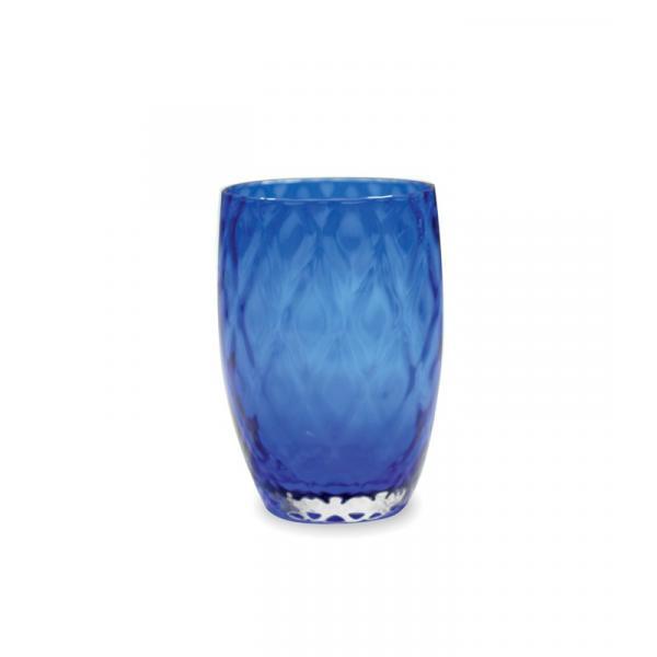 Zafferano - Losanghe Set 6 bicchieri tumbler Blu