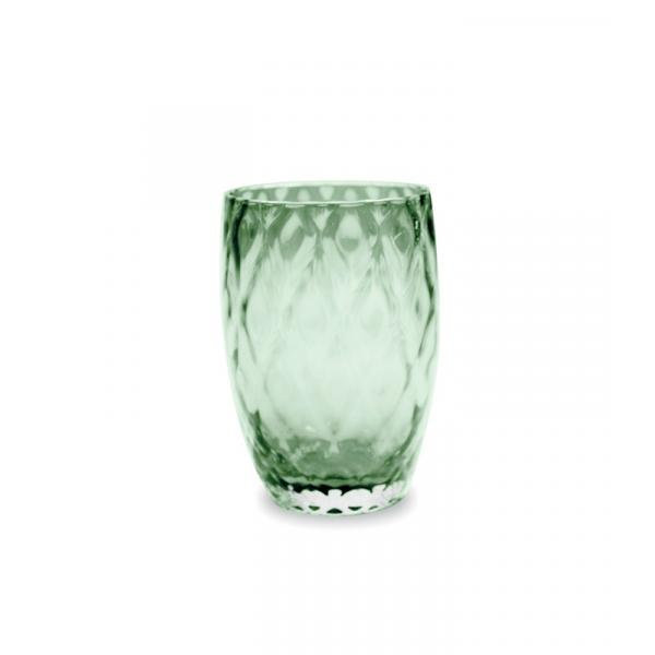 Zafferano - Losanghe Set 6 bicchieri tumbler Verde Inglese