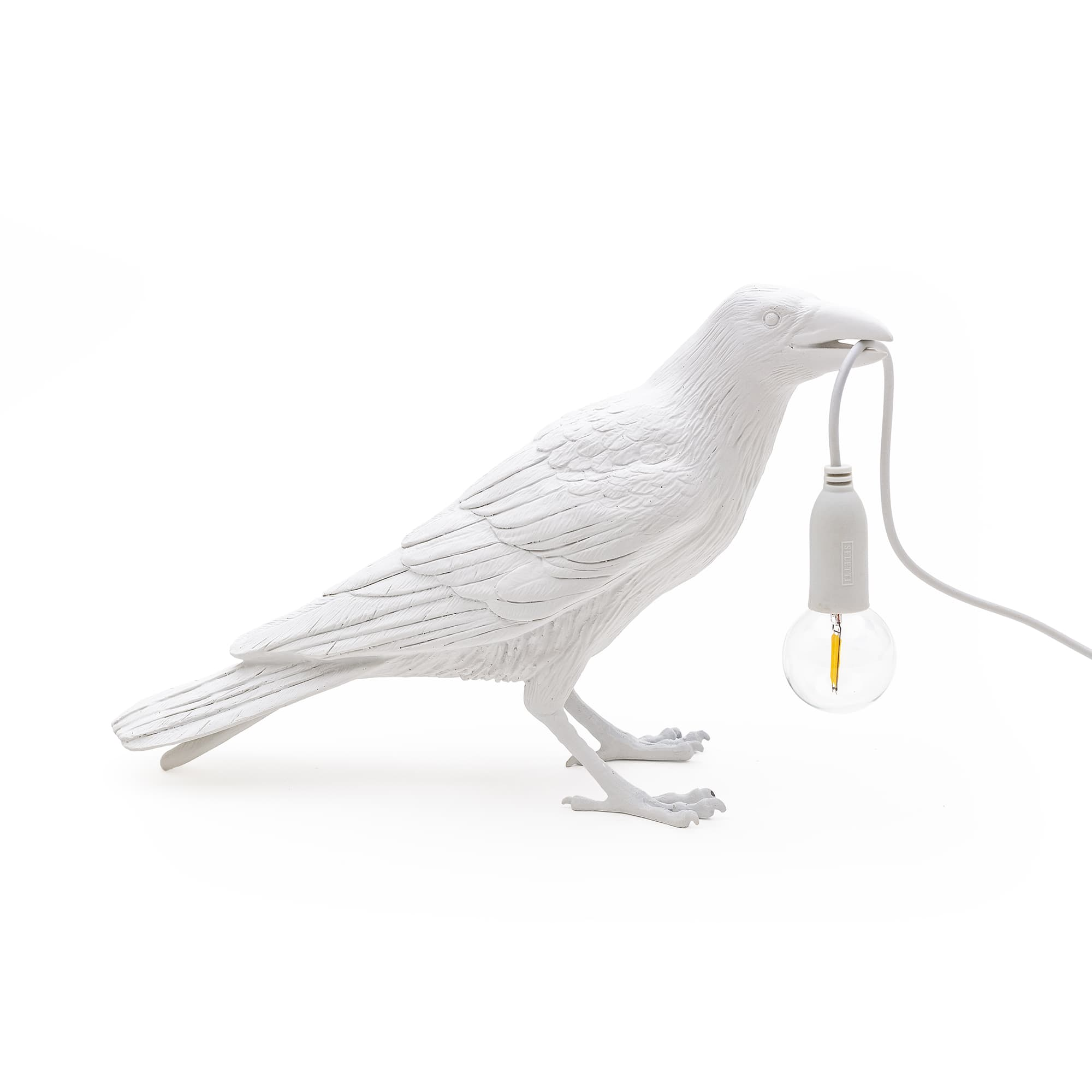 Seletti - Bird Lamp White Waiting