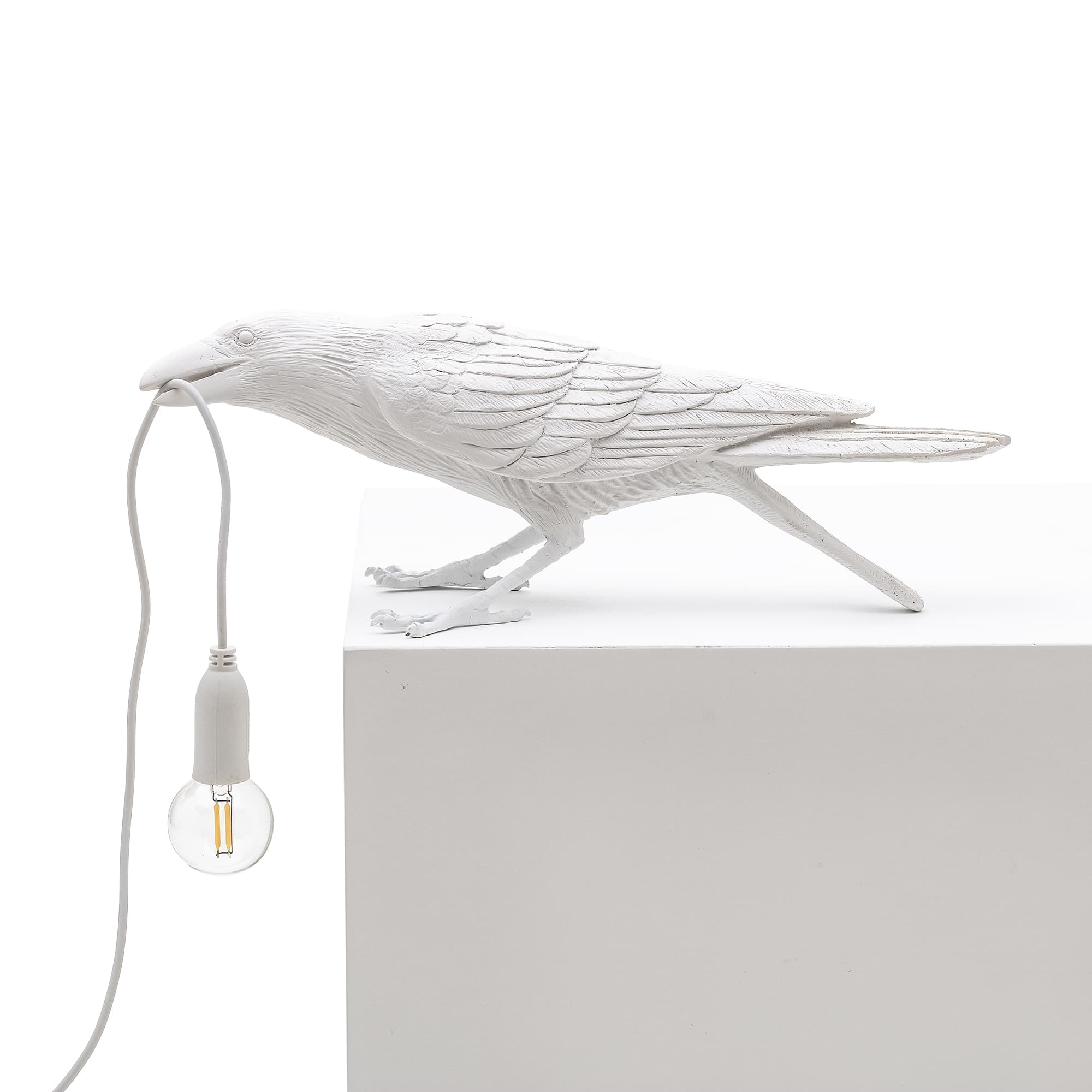 Seletti - Bird Lamp White Playing