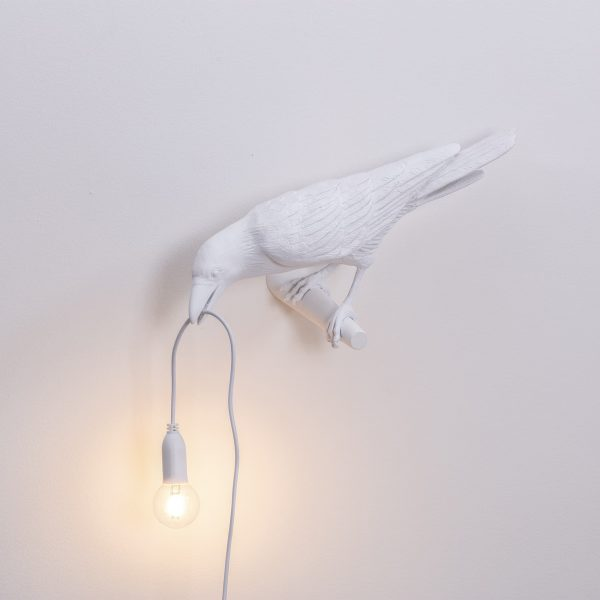 Seletti - Bird Lamp White Looking