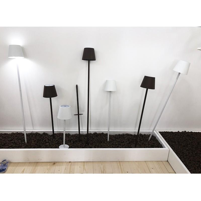 Zafferano Poldina Floor Table Lamp Corten Erresse Shop