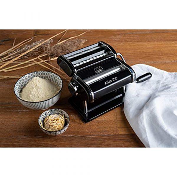MARCATO Pasta Maker Atlas 150 Black