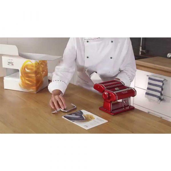 MARCATO Pasta Maker Atlas 150 Red