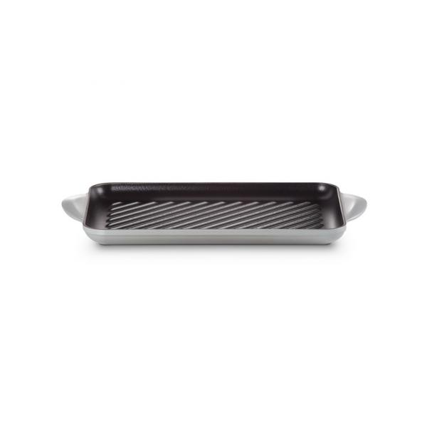 Le Creuset Cast Iron Rectangular Grill 32 x 22 cm Mist Grey