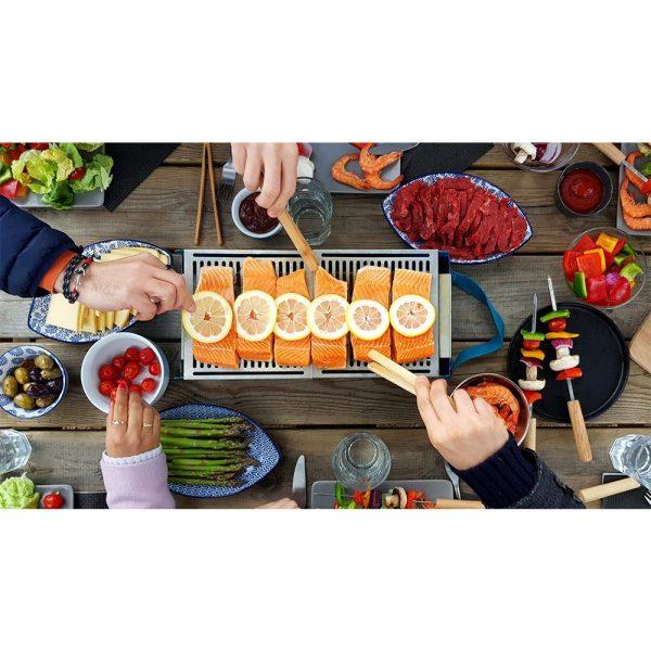 COOKUT Barbecue Party da Tavolo Blu