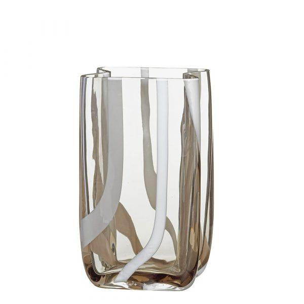 CARLO MORETTI Murano Crystal Vase Tasch I Piccoli