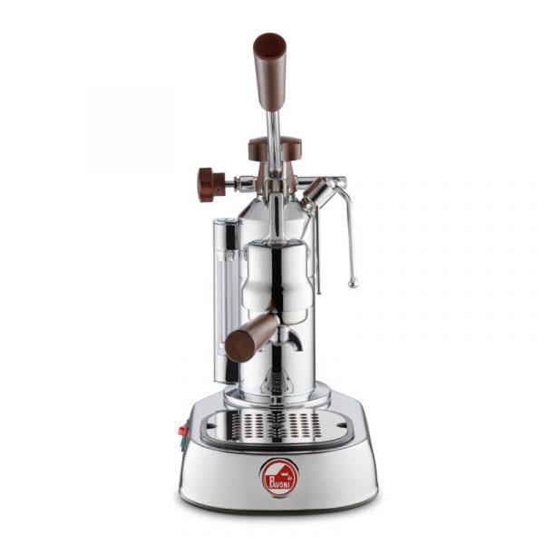 LA PAVONI Coffee Machine Espresso Europiccola Lusso Wooden Handles