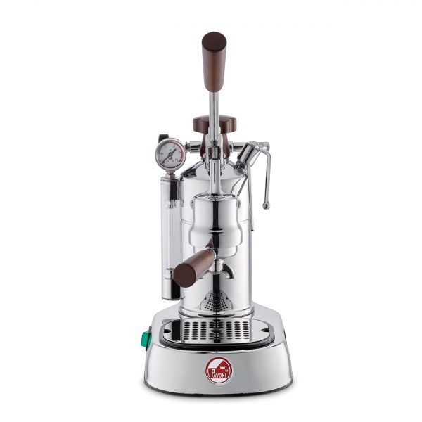 LA PAVONI Coffee Machine Espresso Professional Lusso Wooden Handles