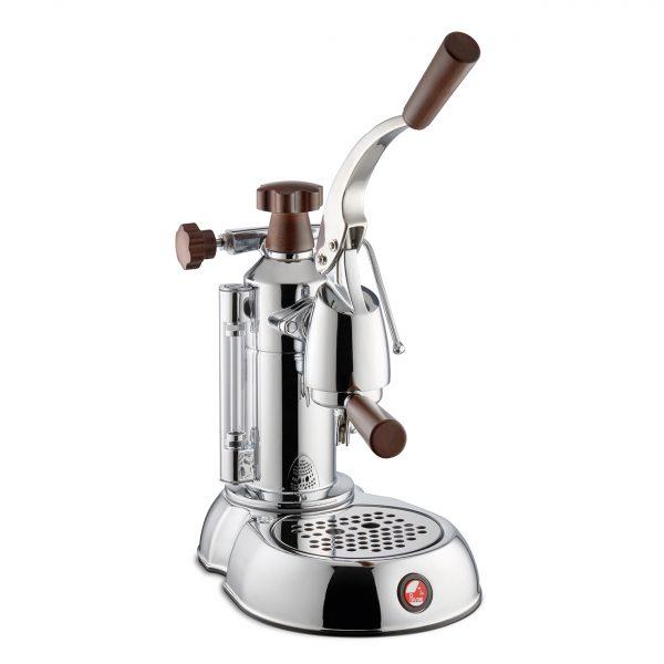 La Pavoni Coffee Machine Espresso Stradivari Europiccola Wooden Handles