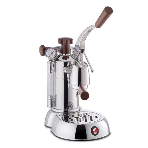 La Pavoni Coffee Machine Espresso Stradivari Professional Wooden Handles